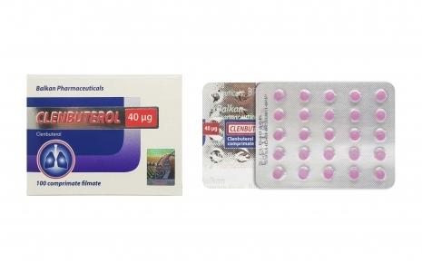 Clenbuterol Balkan Pharmaceuticals